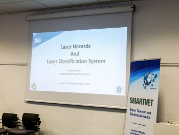 Laser Safety training at Aston University