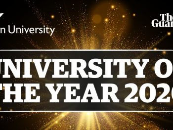 ASTON named Guardian's university of the year