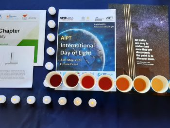A series of surprise mini-events as a part of International Day of Light in AiPT