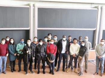 Second year students in Telecom SudParis, end of 2020-21 a.y